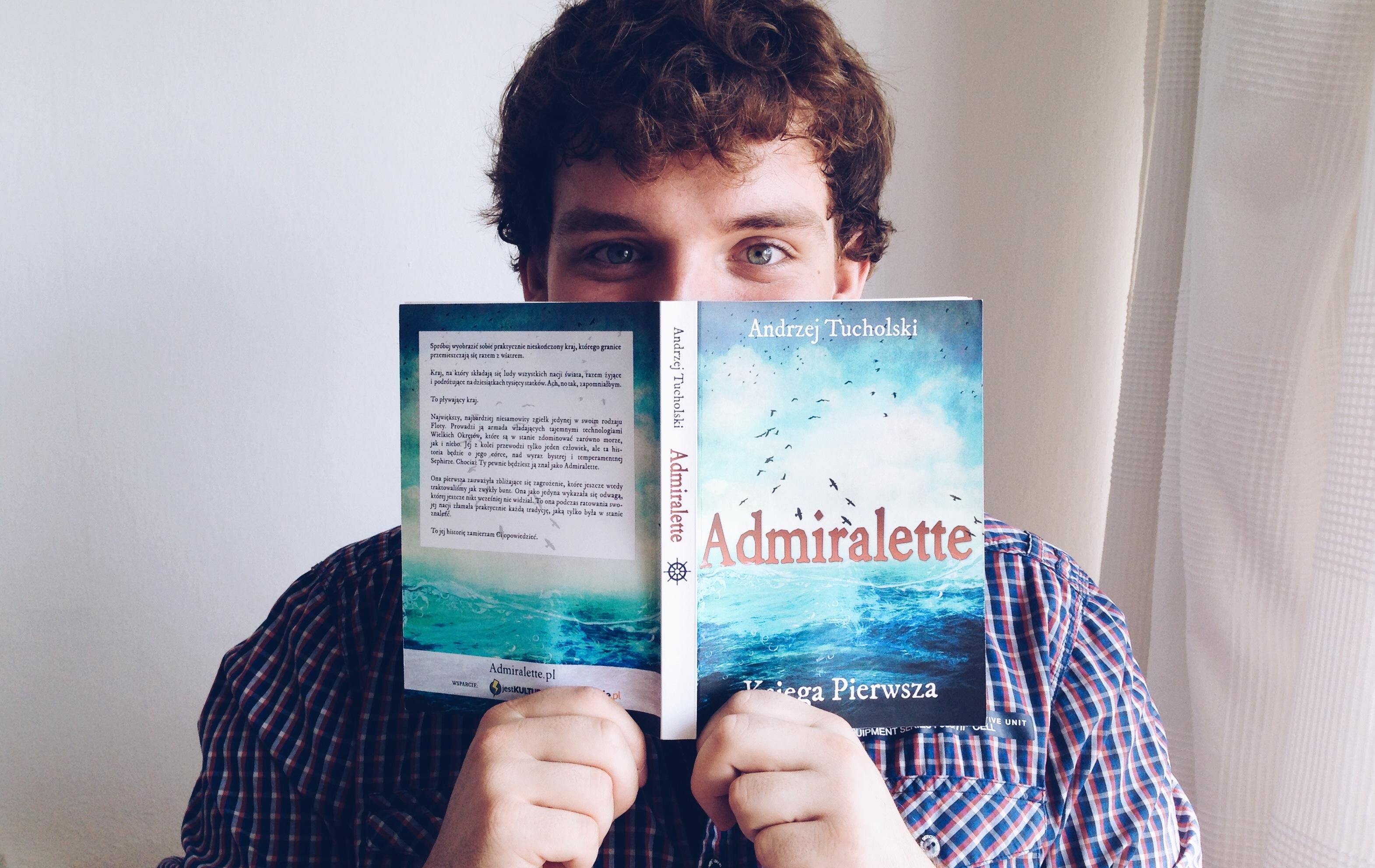 Admiralette - WIELKA PREMIERA mojej pierwszej książki!!!