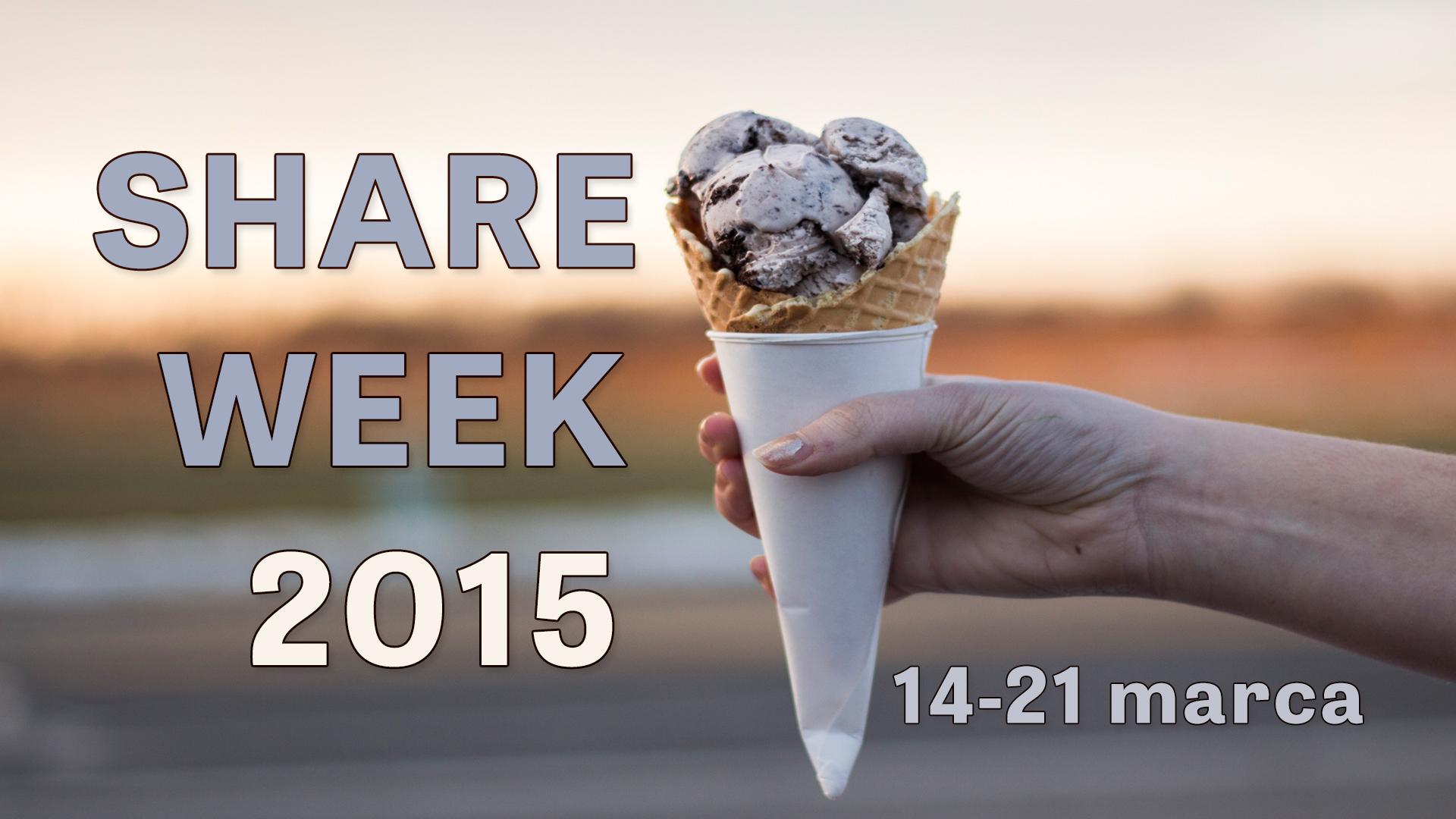 Polecamy najlepsze blogi - SHARE WEEK 2015