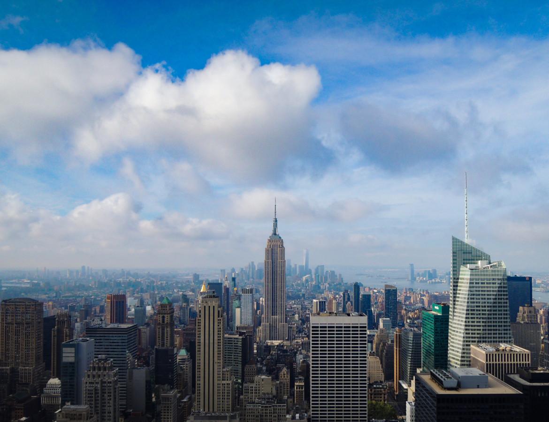 Naj-pięk-niej-szy widok na Manhattan.